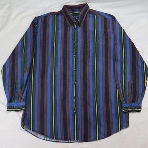 Vintage JOHN ASHFORD 90s Striped Button Shirt